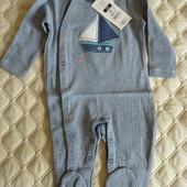 Человечек трикотаж на новорожденного от Cool club by Smyk, размер 62 см