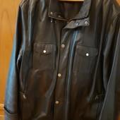 Кожаная куртка 4XL (нюанс)