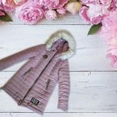 Зимняя куртка для девочки, см. замеры
