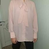 Нежная блузка рубашка от Esmara пог 58см