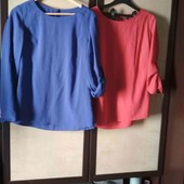 блузка одним лотом 2 еденицы