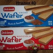 Не пропустите!Экономупаковка!300 г вафли с орехом или какао!Италия!Оригинал!