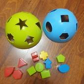 Мяч сортер, 11 форм в отличном состоянии