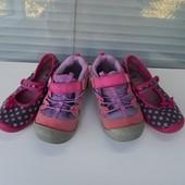 Лот 2 пары фирменной обуви, стелька 17 см