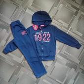 Спортивный костюм детский S&D с пайетками 128, 134 см.