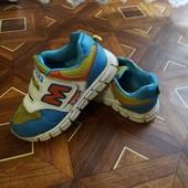 Детские кроссовки, стелька 19см.