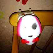 Ночник LED с выключателем, светильник, лампа, собачка