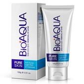 ✔️Очищающая пенка для умывания Bioaqua pure skin Anti-Acne против акне и воспалений 100 мл