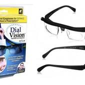 Очки с регулировкой линз Dial Vision, очки для зрения!
