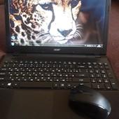 Отличный рабоче-игровой ноутбук+беспроводная мышка+зарядное, параметры в описании