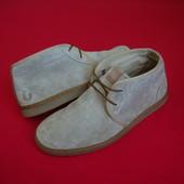 Ботинки Fred Perry оригинал натур замша 40 размер