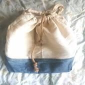 стильный рюкзак hand made