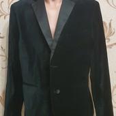❣H&M бархатный пиджак р. 56