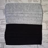 Две текстильные маски 9*18см C&A Германия