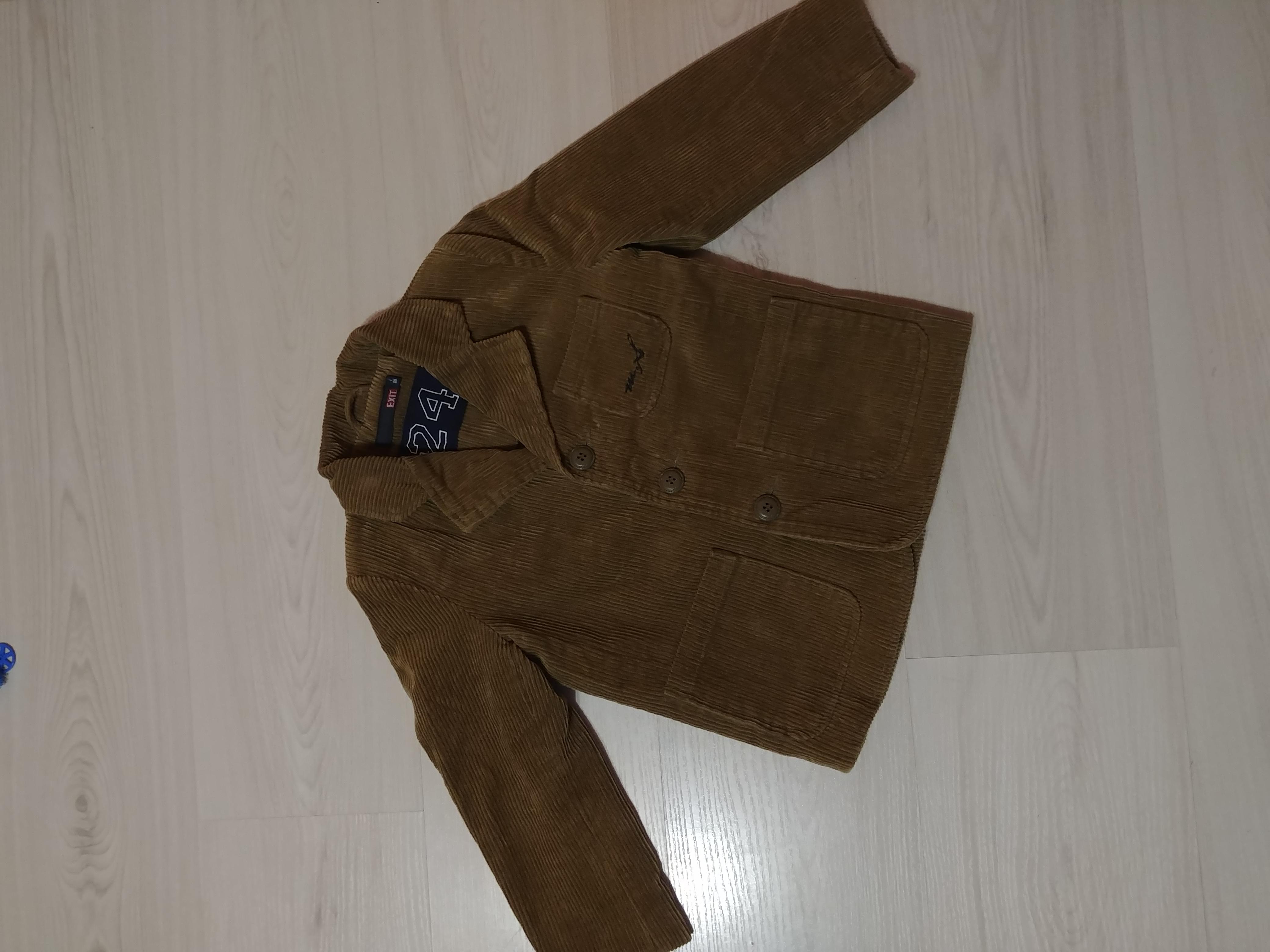 Шикарный вельветовый пиджак на подкладке в отличном состоянии