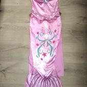 Платье русалочка 7-9лет замеры на фото