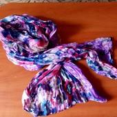 Цветочный шарфик!!!
