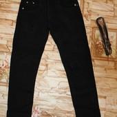 Утепленные котоновые брюки на флисе на девочек 134-164р