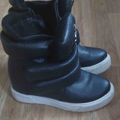 ботиночки утепленные кроссовки ботинки
