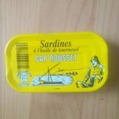 Сардины в масле 125 гр Привезено из Франции Срок годности до 12.2024 года