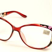 """Дополнение Вашего образа !Стильные имиджевые очки """"Кошечки""""и Лисички с диоптриями + 4"""
