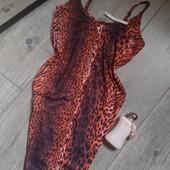 Готовимся к НГ заране Бомбезное платье леопард яркий