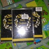 Набор новогодних открыток с конвертами 10 шт