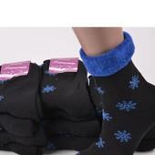 Женские махровые носки. Лот - 1 пара