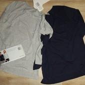 комплект: 2ед, женские базовые футболки с длинным рукавом от Blue Motion. Германия.
