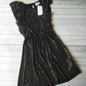 Платье блестящее на девочку подростка cool club размер 170.