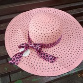 Новая женская шляпка с широкими полями одна в наличии! Цена подарок!