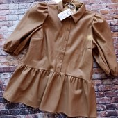 Reserved ❤️ кожаная блузка размер L