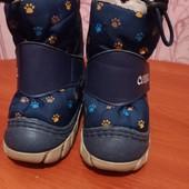 Сапожки детские зимние , размер 19,20