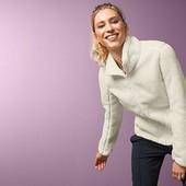 ☘ Двостороння плюшева куртка з реверсивним мікрофлісом Tchibo (Німеччина), р. наш: 48-50 (M євро)