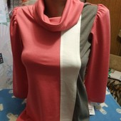 Новое платье кораллового цвета на девушку XXS/XS,см.замеры