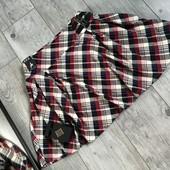 Тепленькая игривая юбка тренд сезона клетка