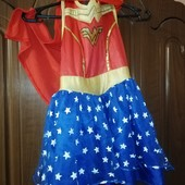 Хеллоуин! Платье Чудо-Женщины!