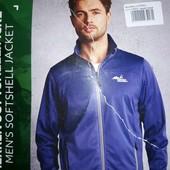 Спортивная кофта-ветровка softshell Newletics, р.М 48/50, синяя