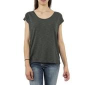женская элегантная футболка оверсайз, с вязаной спинкой, от Street One
