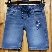 Классные джинсовые шорты на мальчика 4-5 лет
