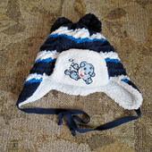 Теплая шапка для мальчика от Ambra в отличном состоянии