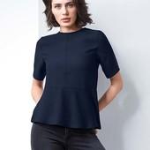 ☘ Стильна елегантна офісна блуза від Tchibo (Німеччина), рр. наші: 46-48 (40 євро) нюанс