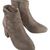 Новинка. р.37-24см Esmara®Германия, ботинки удобные на молнии оригинал