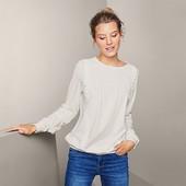 ☘ Шикарна яскісна блуза в офісному стилі від Tchibo (Німеччина), р.: 46-48 (40/42 евро)